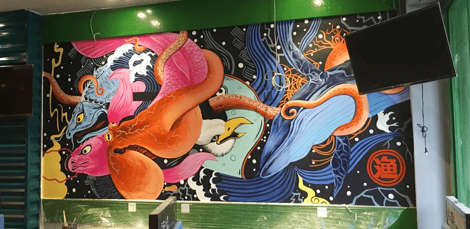 尚善艺造北京手绘墙画|墙绘|墙体彩绘|壁画|装饰画公司